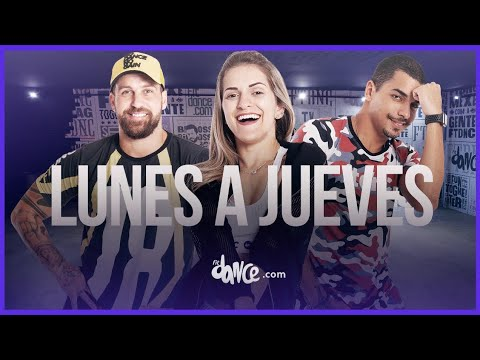 Lunes A Jueves - Leslie Grace, Farina | FitDance Life (Coreografía) Dance Video