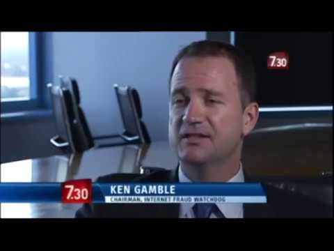 Cybercrime in Business  Ken Gamble on ABC's 7:30 Report