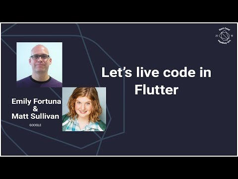 Let's live code in Flutter (DartConf 2018)