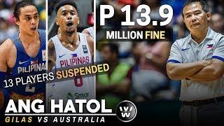 Ang Hatol ng FIBA sa Gilas Pilipinas | Suspensions & Fines