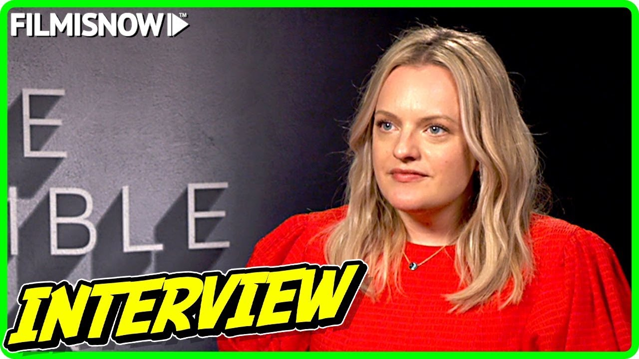 Elisabeth Moss Interview for THE INVISIBLE MAN