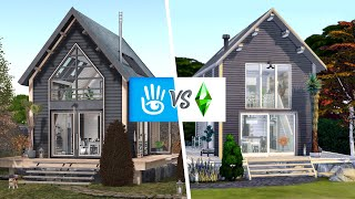 SECOND LIFE VS SIMS 4 | Ettienne Cottage 🏡