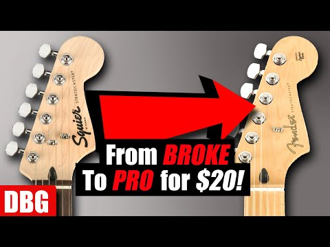 Make Your SQUIER Sound Like a FENDER for $20!!
