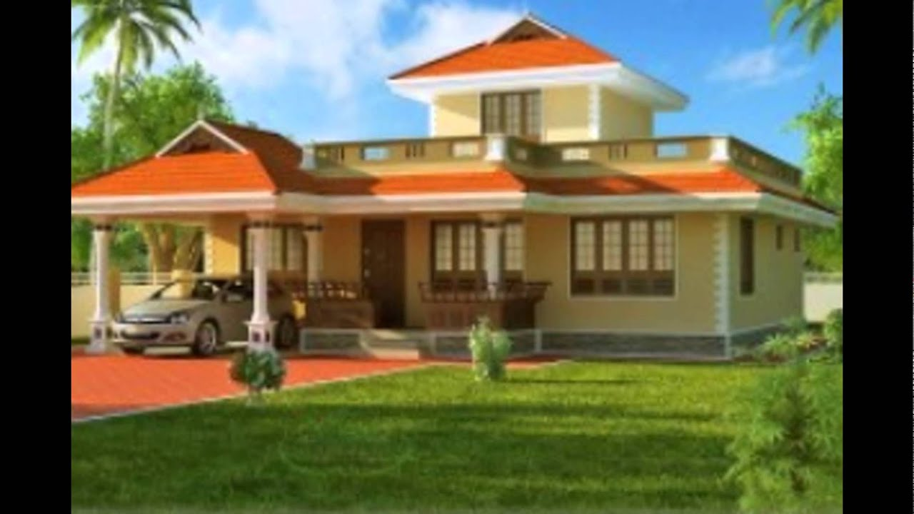Kerala single floor house design 200x200 youtube for Kerala style single storey house plans