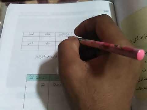 البيئة والصحة الاولى اعدادي اللغة العربية