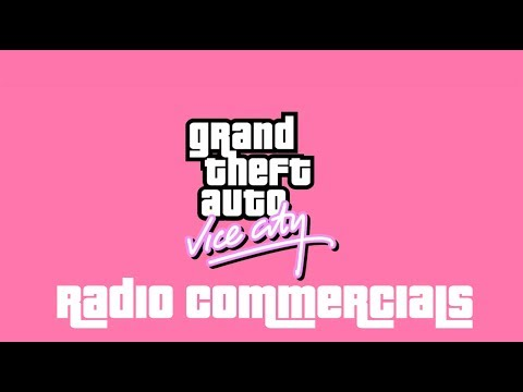 44 GTA Vice City Radio Commercials