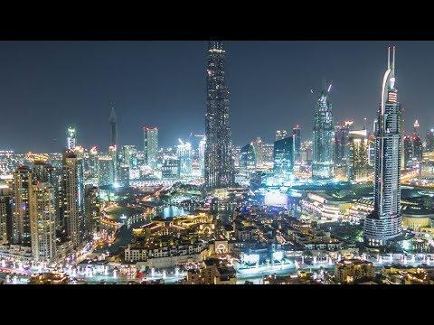 A Tuor Around the Dubai Downtown || MOTOVLOG