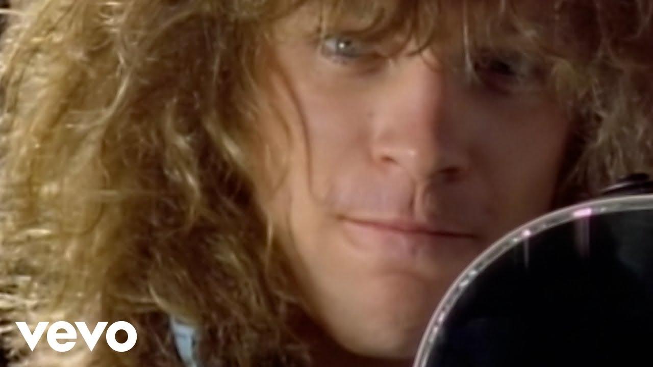 Bon Jovi Never Say Goodbye Youtube