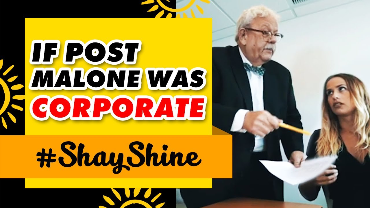 If Post Malone Was Corporate
