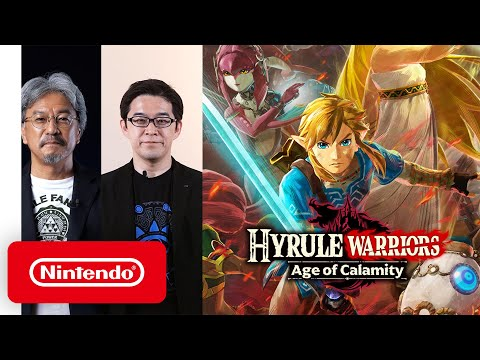 Hyrule Warriors: Age of Calamity - A story 100 years before The Legend of Zelda: Breath of the Wild