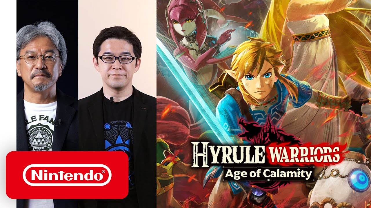 Hyrule Warriors Age Of Calamity A Story 100 Years Before The Legend Of Zelda Breath Of The Wild Youtube