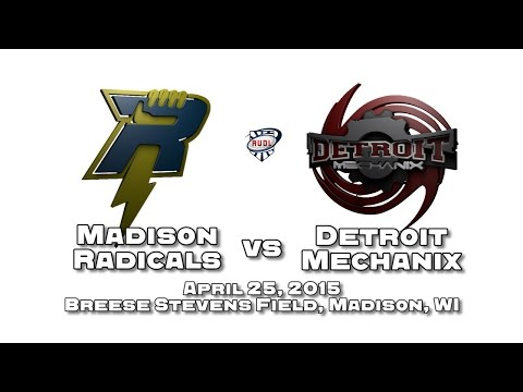 Madison Radicals vs Detroit Mechanix - April 25, 2015