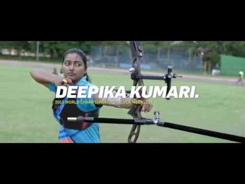 Deepika Kumari   Where there's a will, there's an aim #BillionCheers
