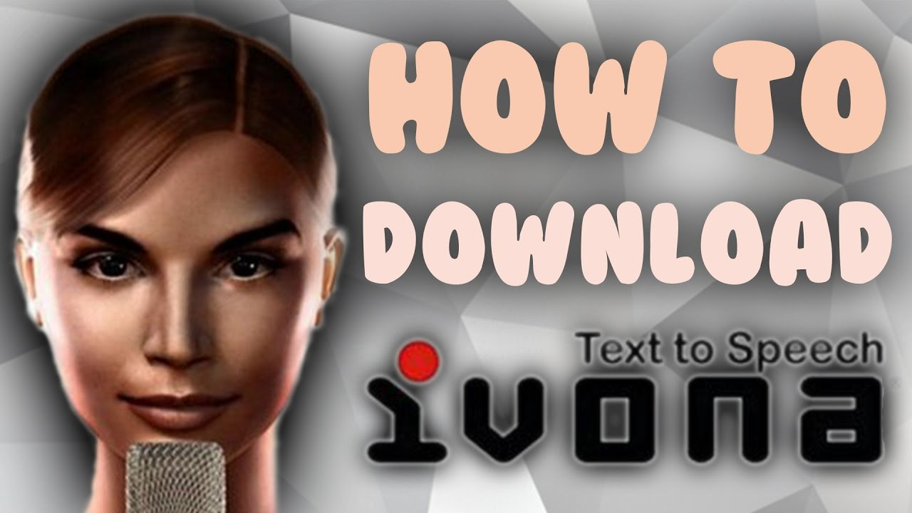 How To Download IVONA | Text-to-speach & Voices | eSpeak Download | @2019