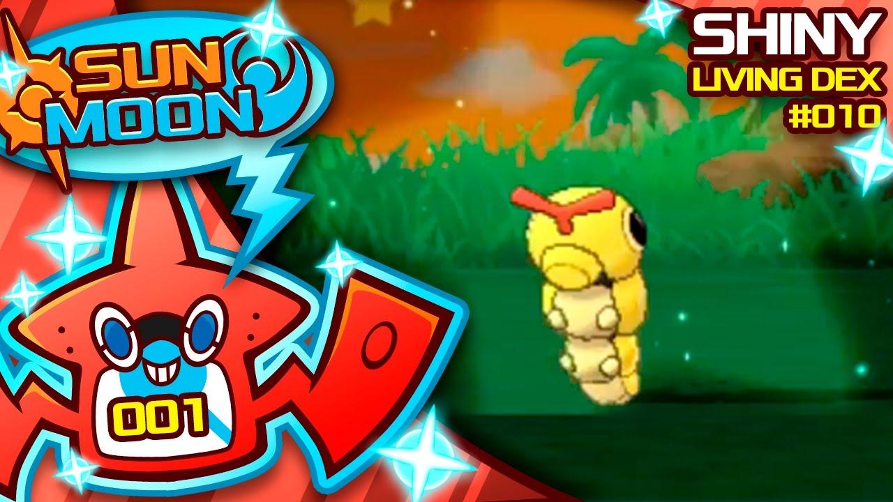 how to catch shiny pokemon sun and moon