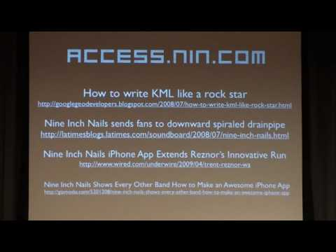 Google Earth, Nine Inch Nails, and Real-time Geo Community