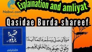 Gambar cover Qasidae burda sharif k wazaif amliyat fazail in hindi #qasidae burda shareef