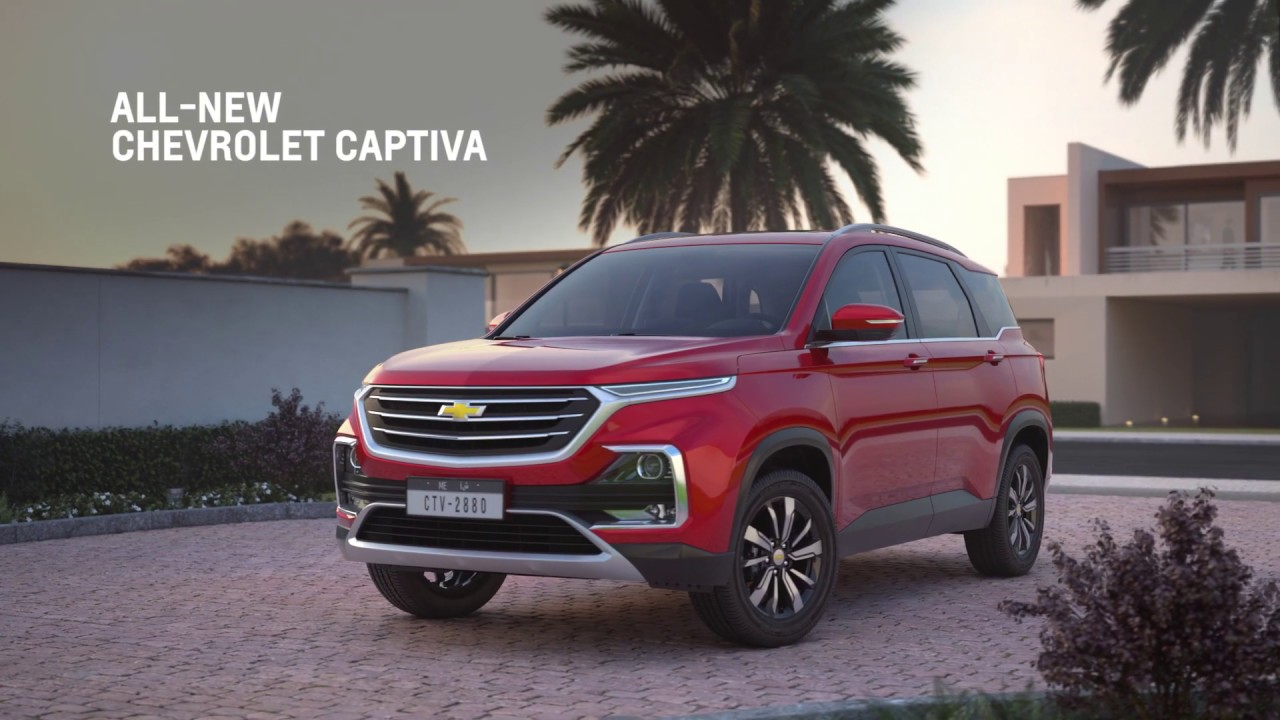 All-new Chevrolet Captiva | Room for Everything & Everyone.