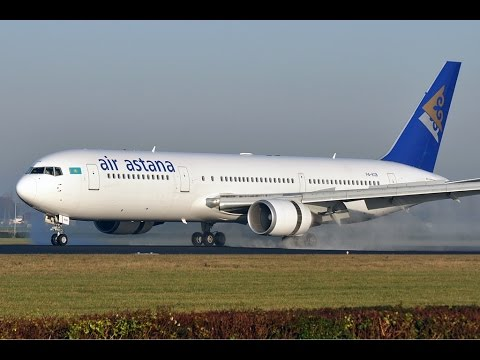 [IVAO] P4-KEA- Air Astana   /ATA - AST/ UAAA-UACC [Boeing 767-300ER]