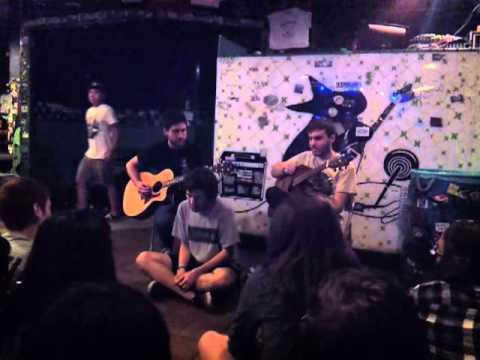Real Friends Acoustic Set Chain Reaction 10-19-13