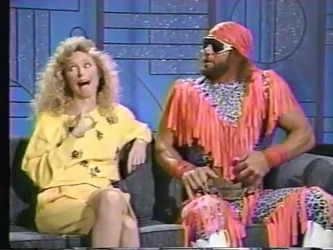 Macho Man Randy Savage on Arsenio Hall Show 1989