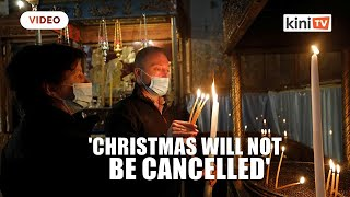 'Christmas will not be cancelled' says Bethlehem, amid little comfort or joy
