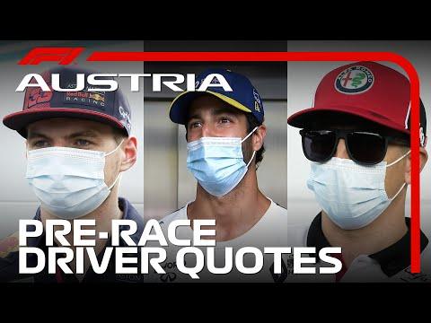 Chatting To All 20 F1 Drivers! | 2020 Austrian Grand Prix