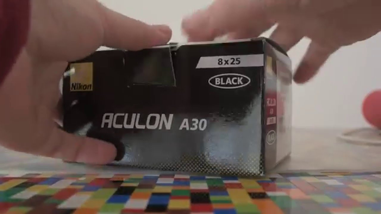 Nikon aculon a30 fernglas unboxing youtube