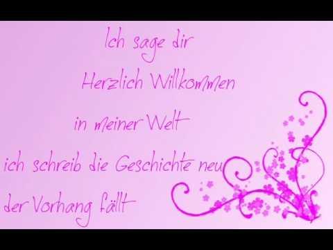 Lafee Herzlich Willkommen (lyrics)