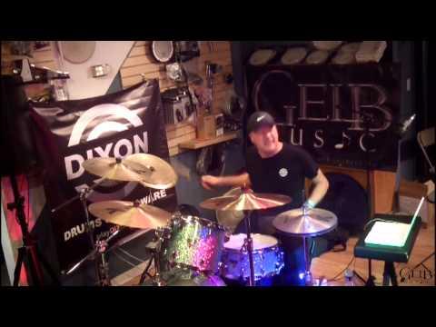 Gregg Bissonette 2014 Clinic at Gelb Music