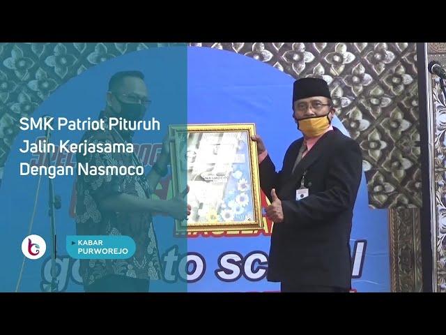 SMK Patriot Pituruh Jalin Kerjasama Dengan Nasmoco