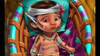 Moana Ocean Baby Injured (Лечить малышку Моану)