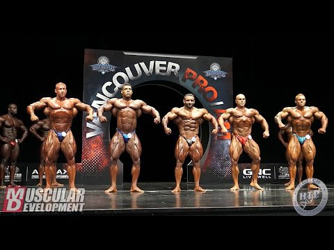 Open Bodybuilding Final Comparisons & Posedown | 2019 Vancouver Pro