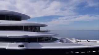 LUNA 115m Lürssen Roman Abramovich's newest yacht
