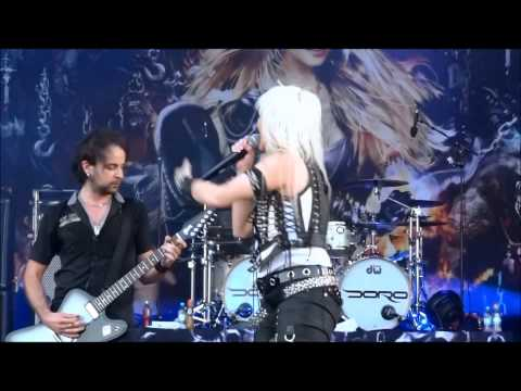 DORO - Live at Rock Of Ages.Rottenburg Seebronn D, 27.07.2013