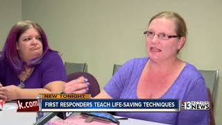 1 October tragedy generates increased interest in learning life saving techniques