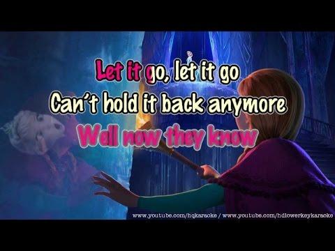 LET IT GO!! (Karaoke Style ) - TGM Edition
