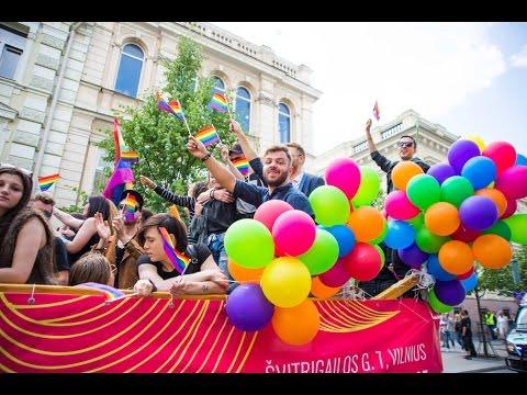 Baltic Pride 2016 march in Vilnius