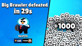 29 SECOND WIN?! Mr.P in BigGame // BrawlStars