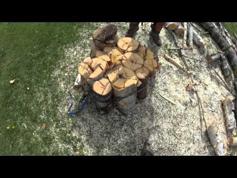 fabrication d 39 un poste pour fendre le bois doovi. Black Bedroom Furniture Sets. Home Design Ideas