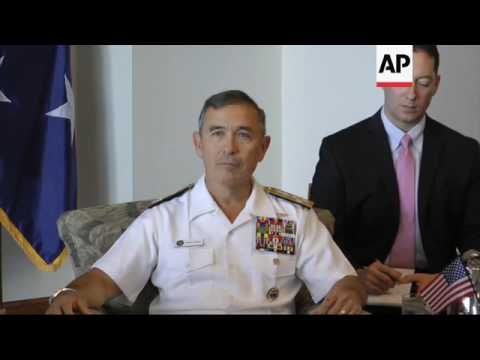Japan Defense Minister Meets US Pacific Admiral