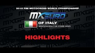 European Championship EMX 300 Round of Italy Race 1 Highlights 2015