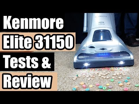 Kenmore Elite 31150 Pet & Allergy Friendly Upright Vacuum REVIEW