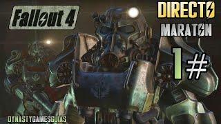 Fallout 4 DIRECTO 1# Walkthrough Survival Mode ESPAÑOL-Maratón hasta que el cuerpo aguante-ULTRA PC