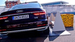 Audi A8 2018 The Most High Tech Car Ever DEMONSTRATION