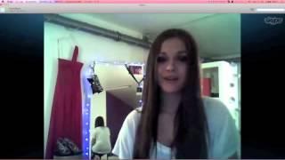 Jenny, Miss BAMBI 2011, erzählt über ihren Auftritt bei der BAMBI-Verleihung 2011 in Wiesbaden