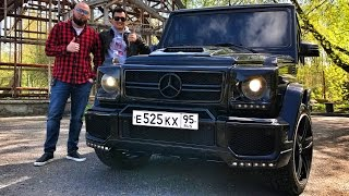 Чумовой Гелик   сиденья S Class, обвес BRABUS, MANSORY консоль!) Как снимали крутой Mercedes G Class