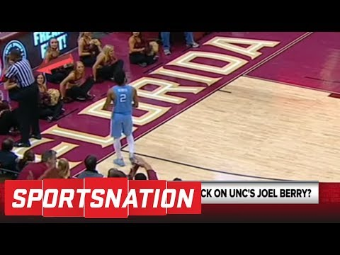 Was UNC's Joel Berry dissed by a ref? | SportsNation | ESPN