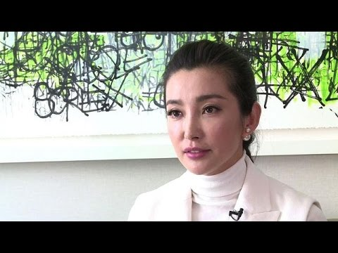 Chinese actress Li Bingbing honored at Met Gala in New York