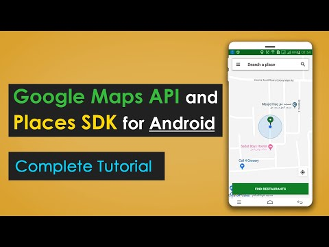 Current Location And Nearby Places Suggestions In Android | Google Maps API & Places SDK  | 2019
